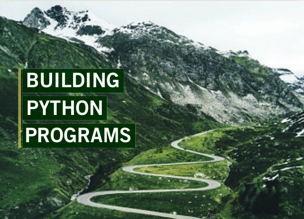 Building Python Programs cover